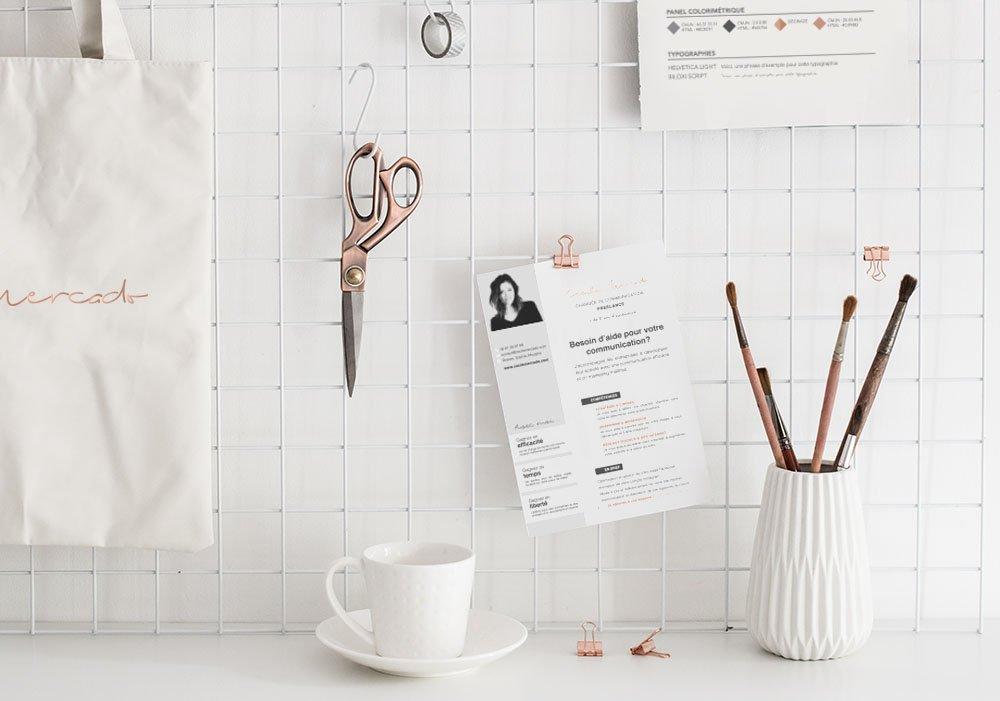 Design & supports classiques - Chargée de communication Cécile Mercado