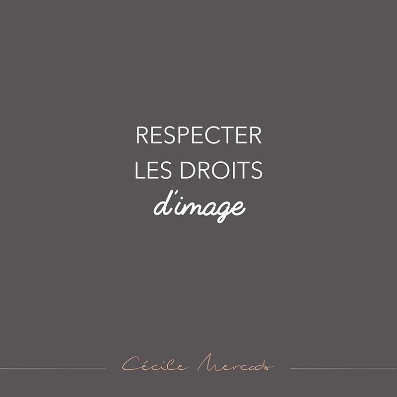 Respecter les droits d'image