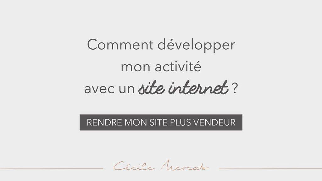 Comment développer mon activité sur un site internet?