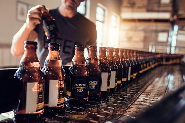 Communication de fabricant de bière artisanale