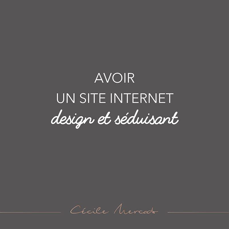 Avoir un site internet design et séduisant